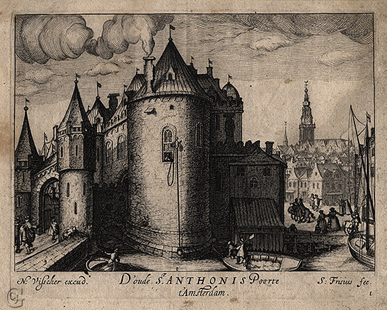 Frisius, The Old St. Anthony's Gate