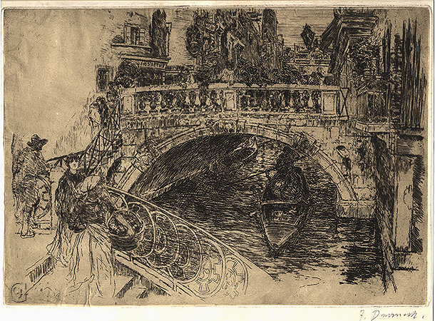 Duveneck, Venetian Bridge