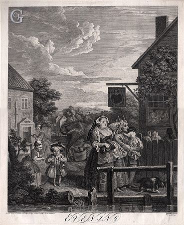 Hogarth: The Four Times of Day