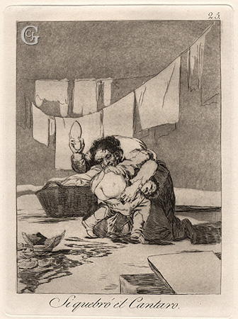 Goya: Yes he Broke the pot