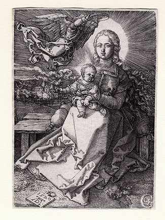 Dürer: Virgin & Child Crowned