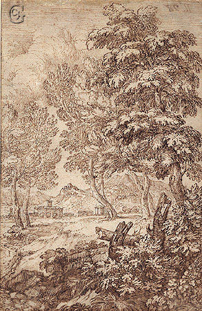 d'Onofri , Trees in a Landscape
