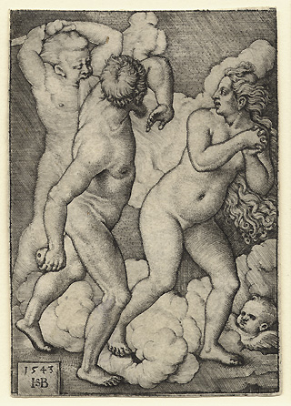 Beham, The Expulsion from Paradise