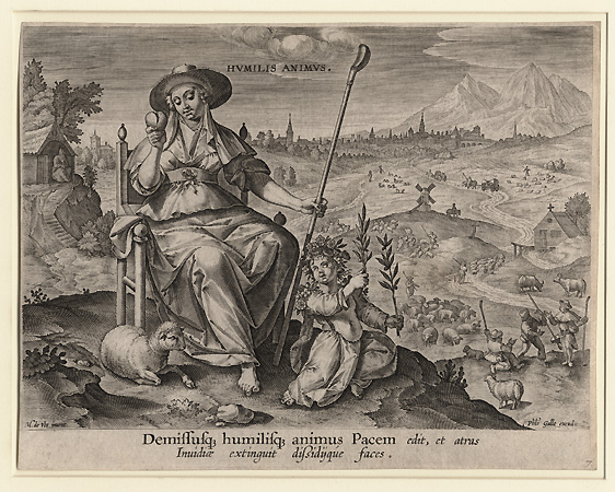 Anonymous Flemish, Humilis Animus (The Humble Heart)