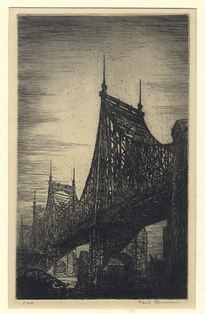NEW YORK: Simonsen, Queensborough Bridge