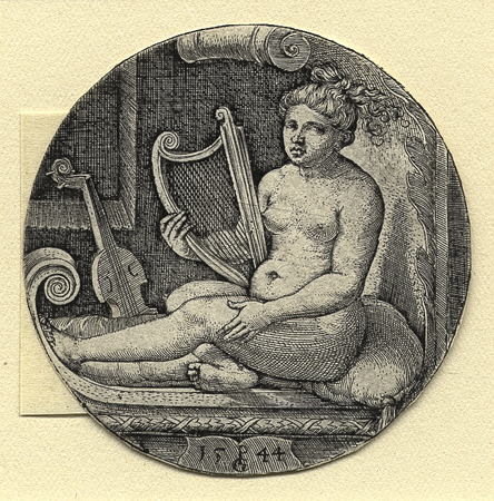Pencz, Woman with a Harp