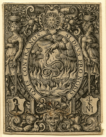 Sonnius, Ornament with a Motto