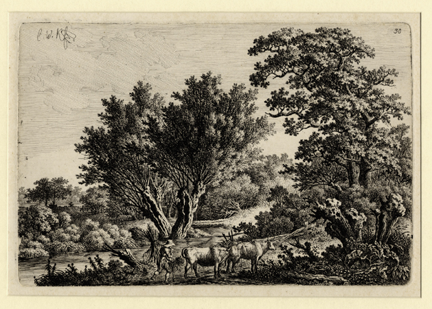 Kolbe, Landscape with a Cowherd