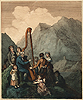 Rowlandson , The Welsh Bard