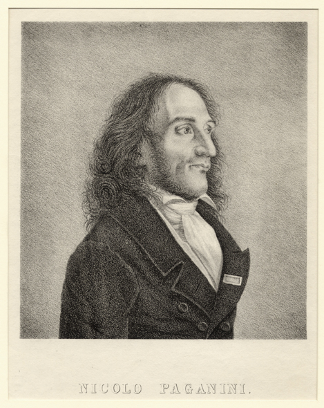Anon. French, Nicolò Paganini