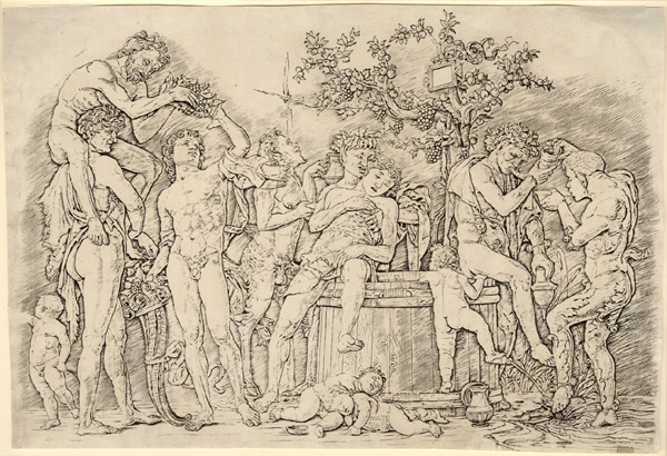 Mantegna, Bacchanal with a Wine Vat