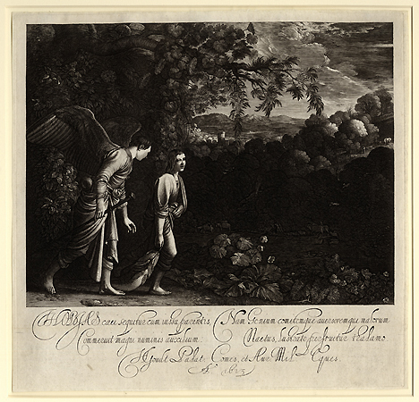Goudt, Tobias with the Angel