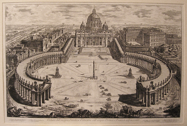 Piranesi, St. Peter's