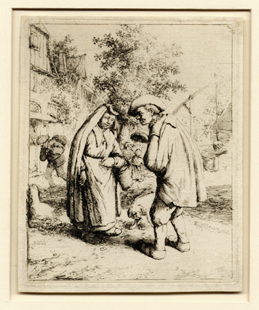 van Ostade, Man and Woman