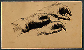 Ribot, Studies of a Left Hand