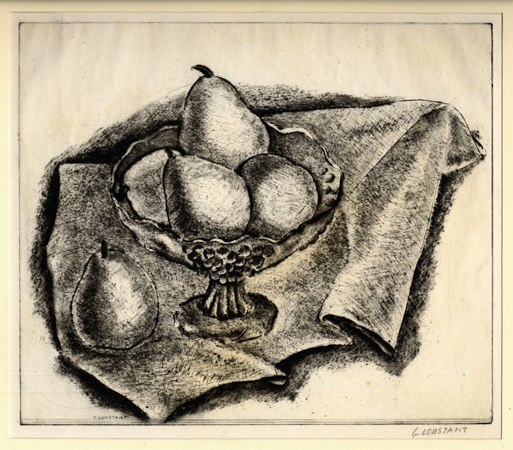 Constant: Still Life with Pears