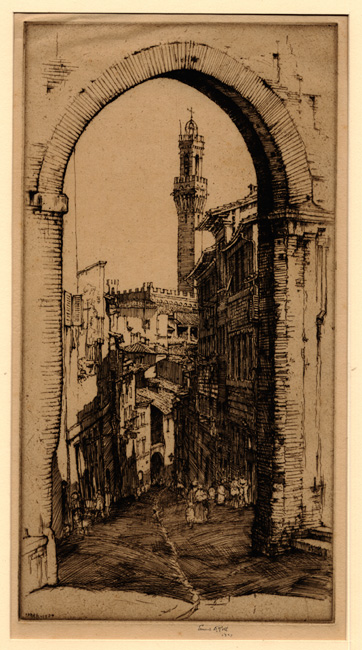 Roth: Street in Siena