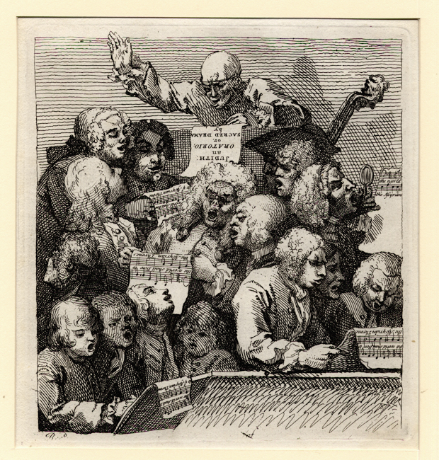 Hogarth, A Chorus of Singers