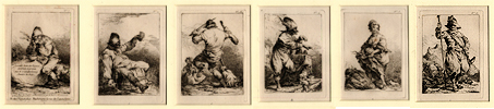 Loutherbourg, 2nde Suite des Figures (Set of Six)