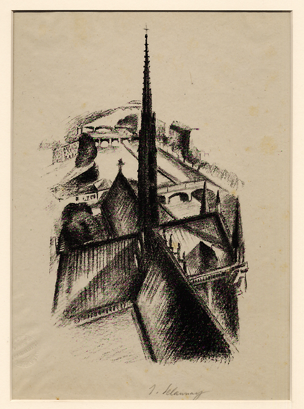 Delaunay, The Steeple of Notre-Dame