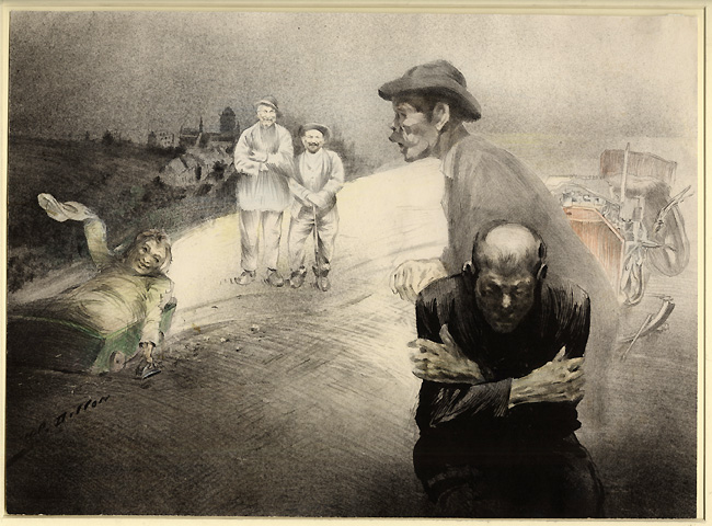 Dillon, Les Mendiants (The Beggars)