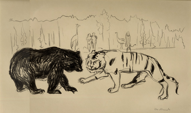 Munch, Tiger and Bear