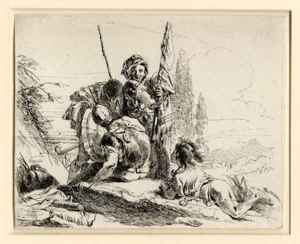 Tiepolo, Three Soldiers
