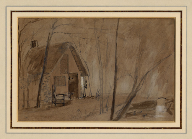 Calvert, Cottage and Trees