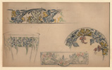 Brocard, Panels of Stylized Floral