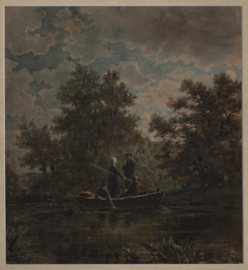 Soeterik, Boaters on a Lake