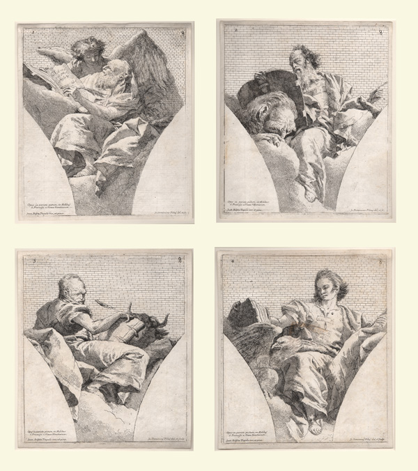Tiepolo, The Four Evangelists