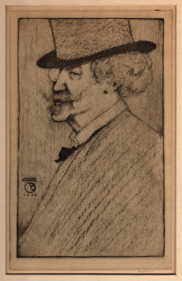 Haskell, Caricature of Whistler
