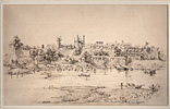 British 19th Century, Badshahi Qila