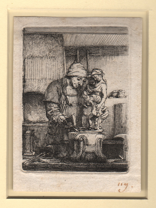 Rembrandt, The Goldsmith