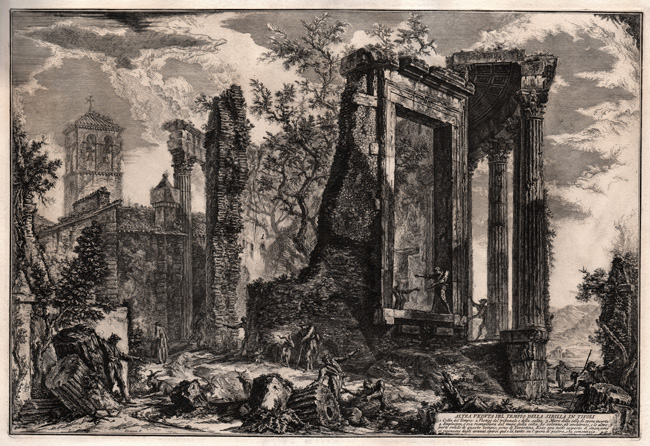 Piranesi, A View of the Temple