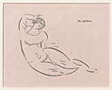 Nadelman, Reclining Female Nude