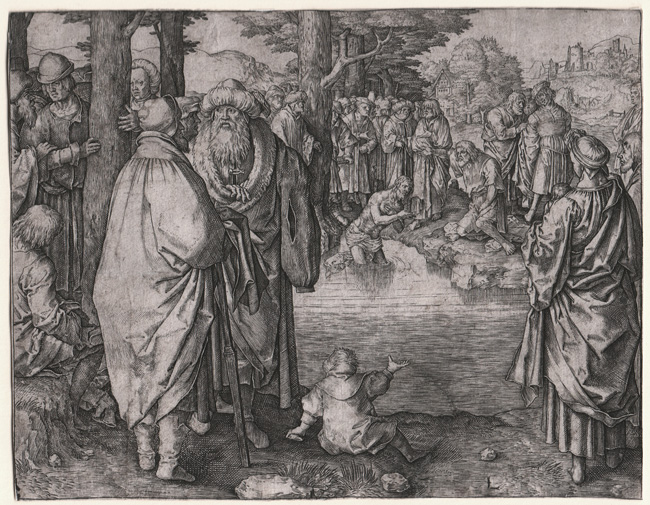van Leyden, The Baptism of Christ