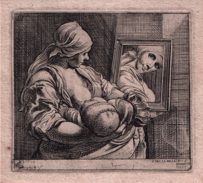 Brebiette, Woman Nursing