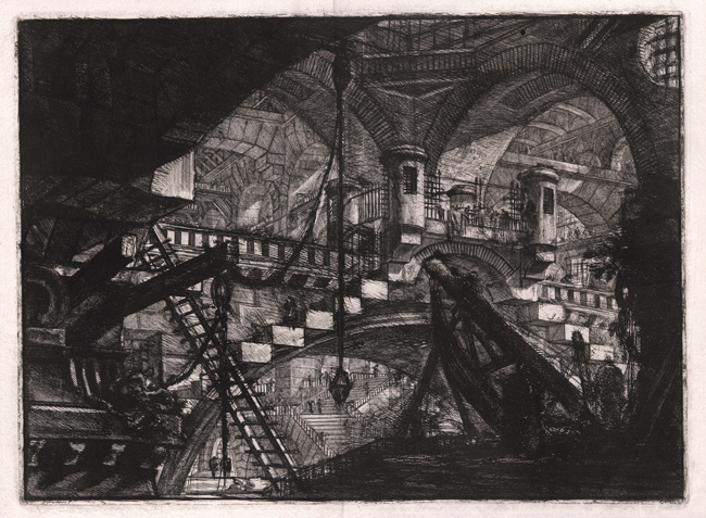 Piranesi, Carceri XI: The Arch